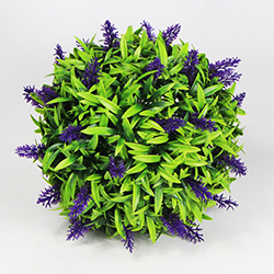 Artificial Topiary Ball C025 Purple